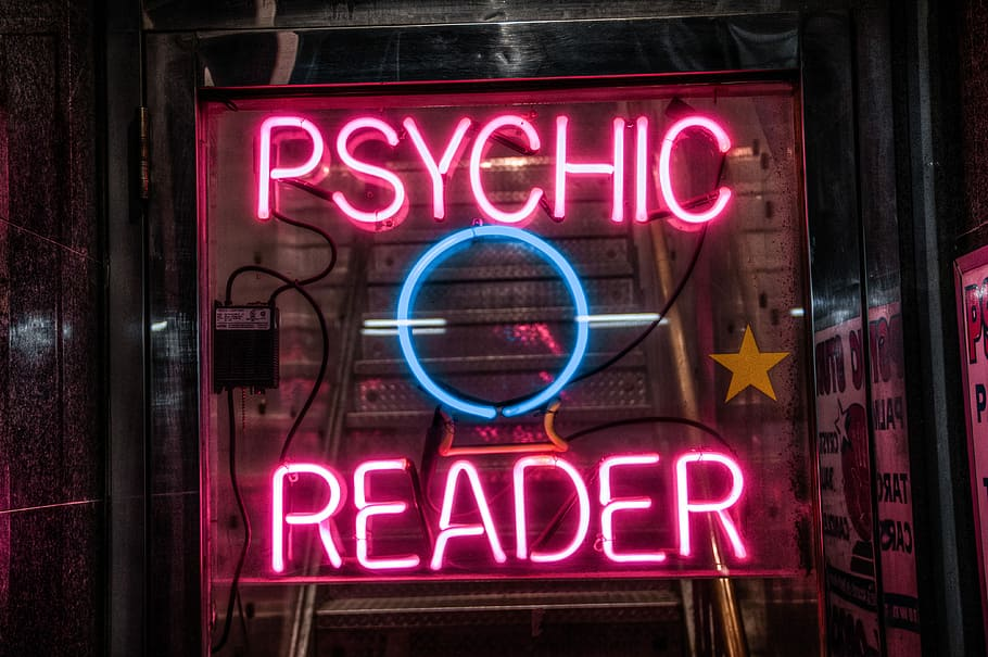 Practice readings for psychic tips