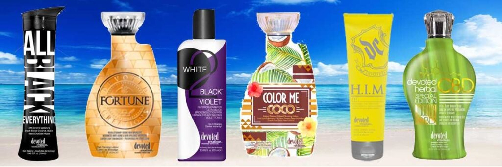 Indoor Tanning Lotion